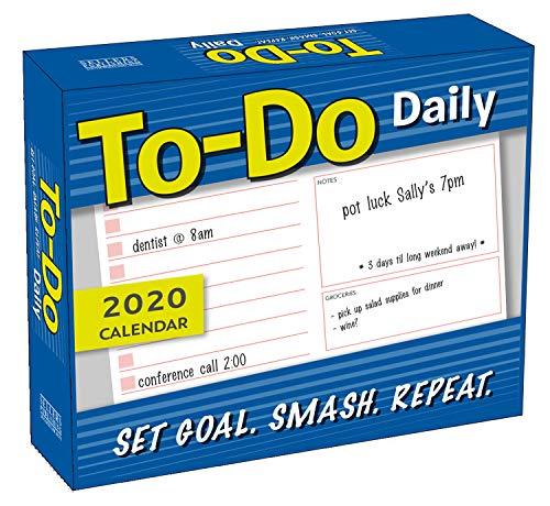 to-Do Daily 2020 Calendar: Set Goal - Smash - Repeat (Calendar To Do List)
