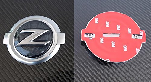 JDM FRONT SMOKE Z-LOGO EMBLEM FOR 2009-2015 NISSAN 370Z (Automatic Lambo Doors compare prices)
