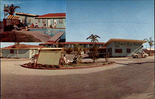 Palomar Inn Motel Chula Vista, California Original Vintage Postcard ()