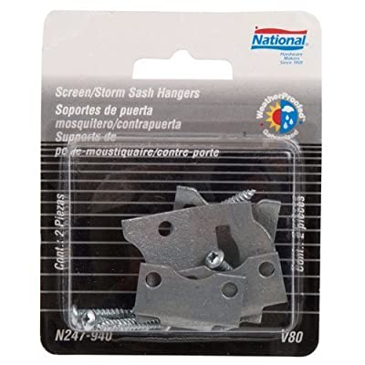 National Hardware V80 Screen & Storm Sash Hangers in Galvanized
