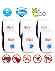 Ultrasonic Pest Repeller-2018 New Electronic Mouse Repellent Plug in Indoor Pest Control Ultrasonic Insect& Bug Repellent for Mice,Rat,Mosquito,Roach,Ant,Fly,Spider, Rodent-No Trap,Sprayer&Baits