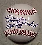 """Juan Marichal """"HOF 83"""" San Francisco Giants Autographed MLB Baseball w/ JSA COA"""