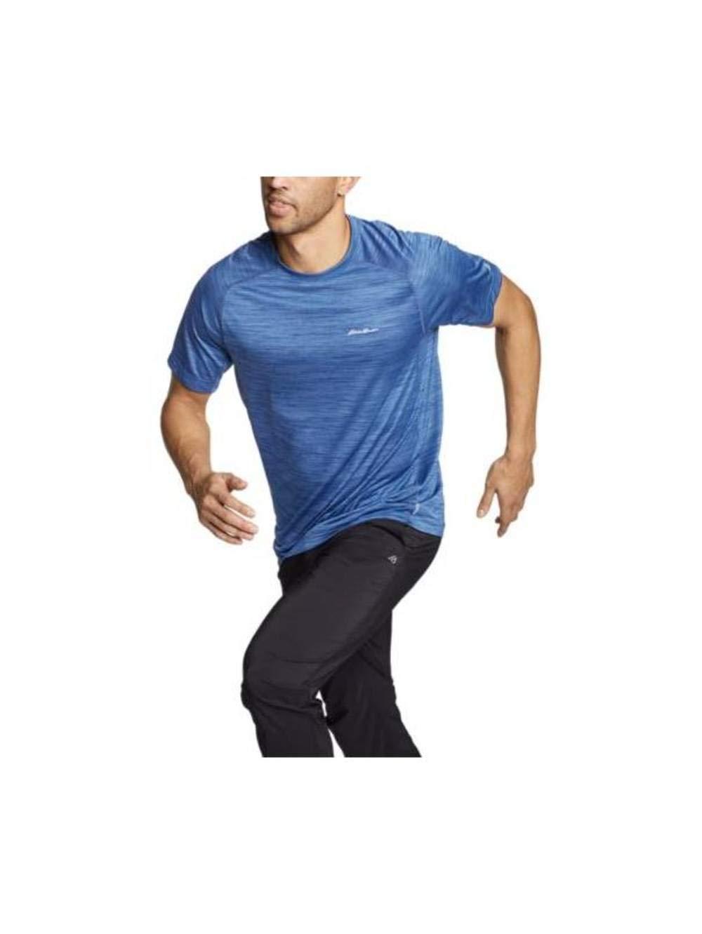 Eddie Bauer Men's Resolution Short-Sleeve T-Shirt, Lake Regular S