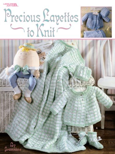 Precious Layettes to Knit  Leisure Arts #3202