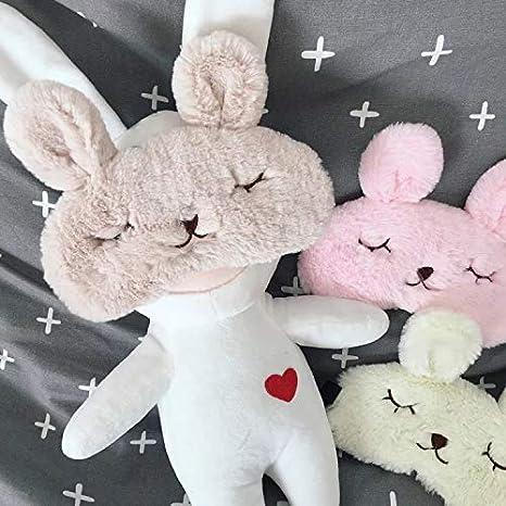 T yzag 2 pezzi sleep eye mask cartoni animati bunny icebag dormire