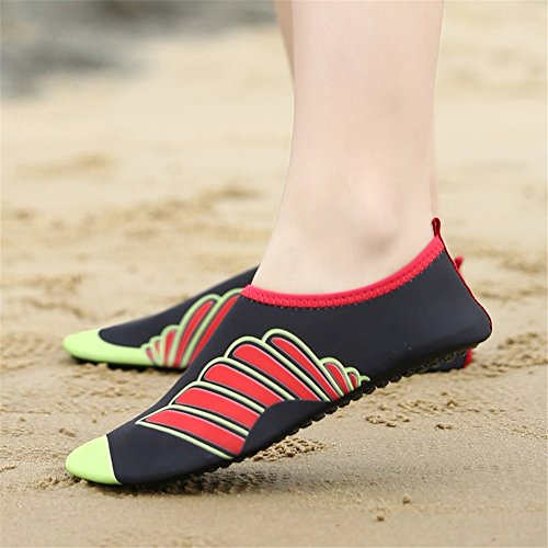 Sandali immersione Calzature piedi Nuoto da GLSHI morbida a Nuoto Amanti di Rafting Yoga danza spiaggia nudi da in pelle Scarpe B Scarpe qwzBxtF5