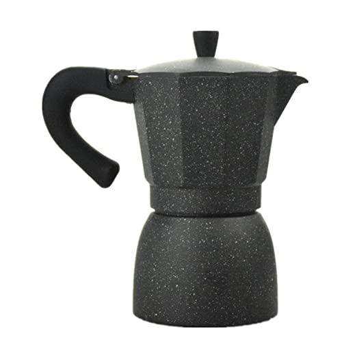 Yzibei Taza de Filtro de Cafe Cafetera Espresso Italiana Cafetera Estufa de Aluminio Moca Olla Cafetera Filtro Olla Moka Pot 6 Tazas Cafetera: Amazon.es: Hogar