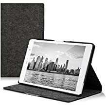 kwmobile Case for Sony Xperia Tablet Z3 Compact with fabric cover and stand with Design Felt - Tablet Case Cover Cases