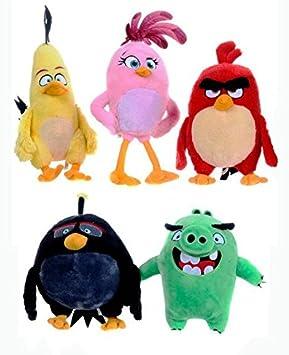 ANGRY BIRDS PELUCHES PACK SÚPER OFERTA: Amazon.es: Juguetes y juegos