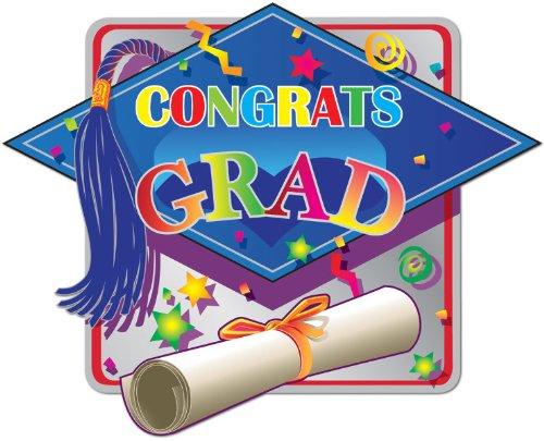 Ddi Printed Hi-Gloss Foil Graduation Sign (pack Of 192)