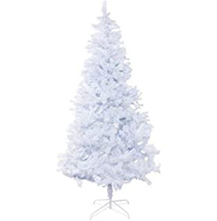 7f99d7e2544 5ft White Christmas Tree Artificial Xmas Pine w Metal Stand Indoor Outdoor  Party Decoration