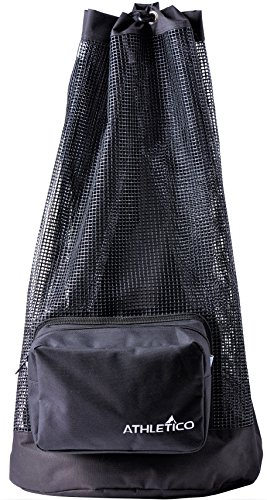 Athletico Scuba Diving Bag - XL Mesh Travel Backpack for Scuba Diving and...