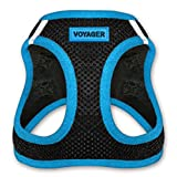 Voyager All Weather No Pull Step-in Mesh Dog Harness with Padded Vest, Best Pet Supplies, Extra Small, Blue