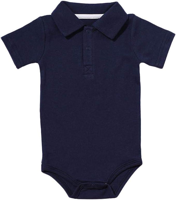 Body Manga Corta para Bebés Romper Camisa Tops Bodies Ropa Casual Jumpsuit: Amazon.es: Ropa y accesorios