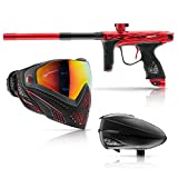 DYE M2 MOSair Paintball Marker - Redrum with FREE Fire i5 and Black R2