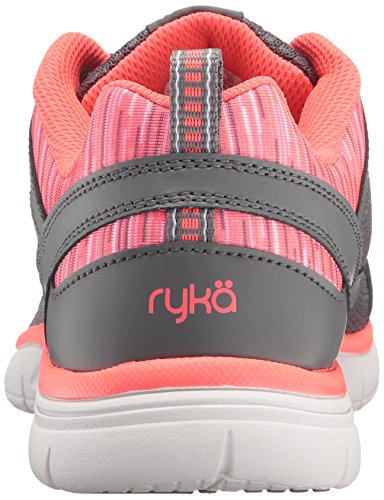 Tennis Shoes Coral Grey Delish RYKA Women's 8q1UAO0wE