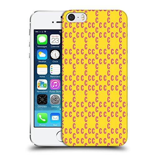 Official Cosmopolitan Pink Pattern 2 Logo Hard Back Case for Apple iPhone 5 / 5s / SE