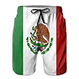 2018 pants Men's Mexico Flag Quick Dry Boardshort Swimm Surf Trunk Beach Shorts Pant
