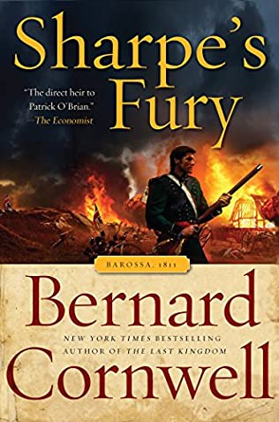 book cover of Sharpe\'s Fury