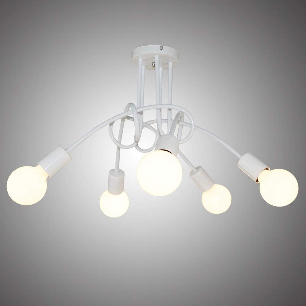 Deckenleuchte LED Industrial E27 Kronleuchter