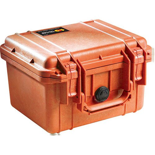 Pelican 1300 - Case 9.87X7X6.12In Org No Fm