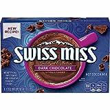 swiss miss dark hot chocolate - Swiss Miss Indulgent Collection Dark Chocolate Naturally Flavored, 4 Boxes Each 10 Oz