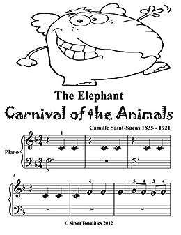 Download PDF Elephant Carnival of the Animals Saint Saens