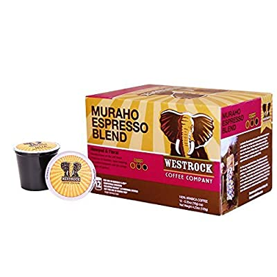 Westrock Coffee Company Muraho Espresso Blend Gourmet Coffee Single Serve Cups 12 Count