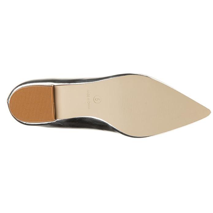 Solesister Glynn Mujer Zapatos Metálico eho9y