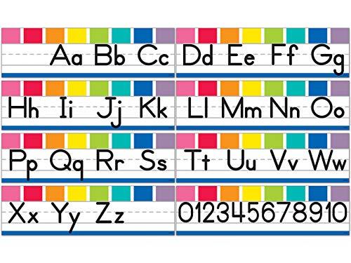 Hello Sunshine Alphabet Line: Manuscript Mini Bulletin Board Set ()