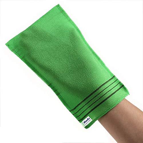 Modu Scrub Exfoliating Korean Mitt Italy Towel Washcloth Bath Removes Dead Skin (Large 5 pcs)