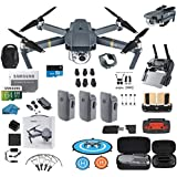 DJI Mavic Pro Drone Flymore Combo Starters Bundle with Must Have Accessories