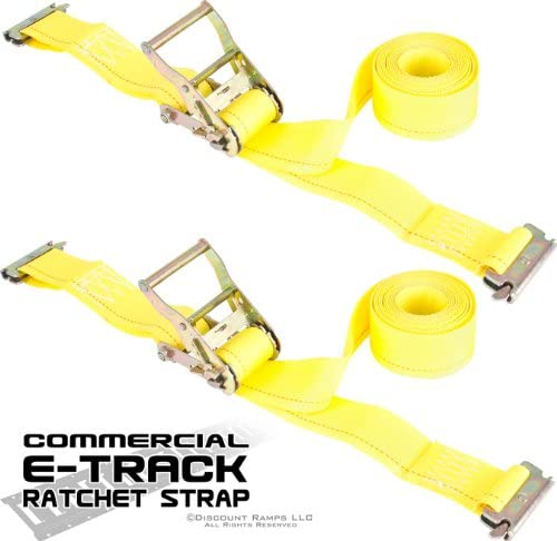 Rage Powersports Heavy Duty Commercial Strap /& E-Track Tie-Down Kit