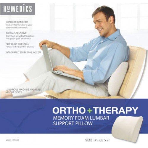 homedics memory foam pillow - 6