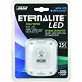 Feit Electric NL2/LED Eternalite 3-LED Dual Purpose Power Failure Night Light with Sensor