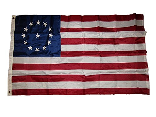 3x5 Embroidered Sewn Historical Cowpens 210D Solarmax Nylon Flag 3'x5'