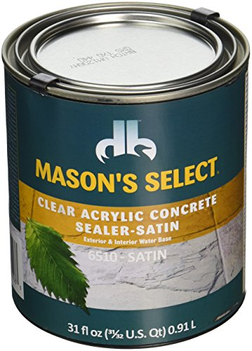 Duckback Products DB-6510-3 Quart Satin Concentrate Sealer, - Select Stain Masons Concrete