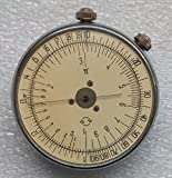 #4: KL-1 VINTAGE SOVIET ROUND SLIDE RULE LOGARITHMIC CALCULATOR
