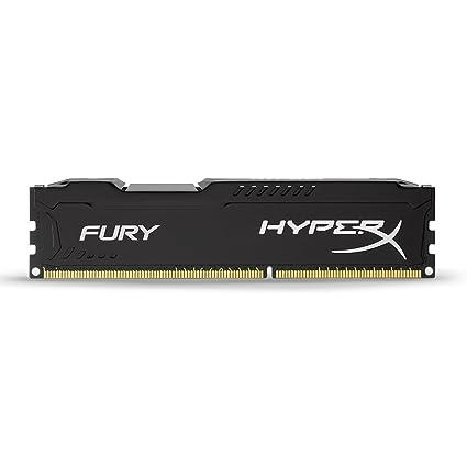 HyperX Fury - Memoria RAM de 4 GB (1866 MHz DDR3 Non-ECC CL10 DIMM), Negro