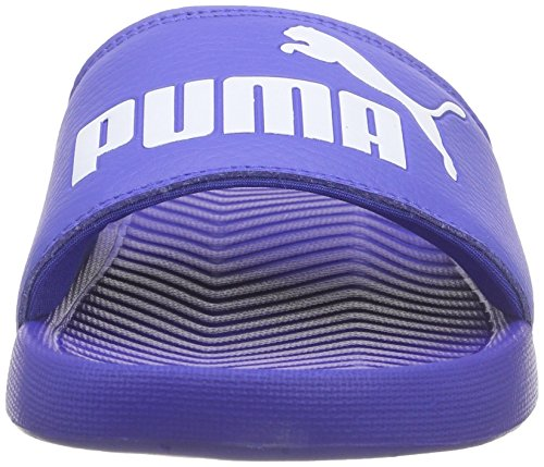 04 Puma Piscine Chaussures Adulte Mixte dazzling amp; Blue Popcat Blau Plage white De SxrwTfqS7