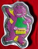 Wilton Barney Purple Dinosaur Full-body Waving Cake Pan Disney (2105-6713, 1993) Retired