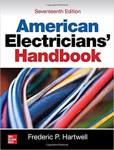 Book Cover: American Electricians' Handbook, 17th Ed. by Frederic Hartwell
