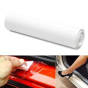 Universal 200cm Clear Film Vinyl Car Door Sill//Edge Paint Protector Anti-Scratch