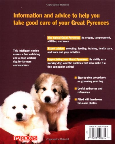 Great Pyrenees (Complete Pet Owner's Manuals) 2