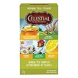Celestial Seasonings Herbal Tea Sampler, 20 Tea Bags per Box