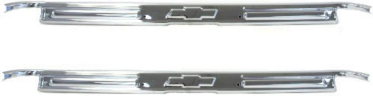 67-72 Chevy GMC Truck Polished Stainless Steel Door Sill Plates New Pair