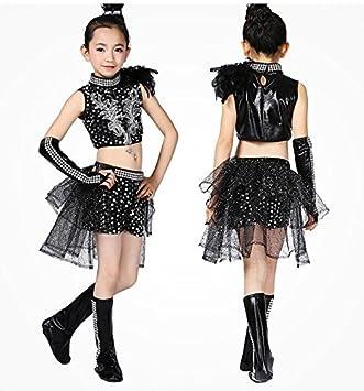 0a74d6dd5b19b Meet You キッズ ダンス衣装 子供用 男の子 女の子 トップス パンツ キラキラ ジュニア ジャージ セットアップ ジャズ
