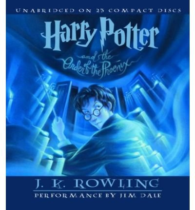 [ Harry Potter and the Order of the Phoenix (Harry Potter (Audio) #05) [ HARRY POTTER AND THE ORDER OF THE PHOENIX (HARRY POTTER (AUDIO) #05) ] By Rowling, J K ( Author )Jun-21-2003 Compact Disc by Listening Library