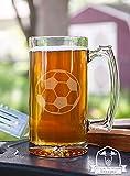 Soccer Ball Stein Beer Mug Gift