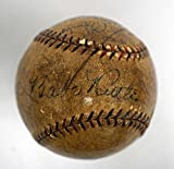 1928 Yankees Signed Baseball Babe Ruth Sweet Lou Gehrig - Beckett Authentication